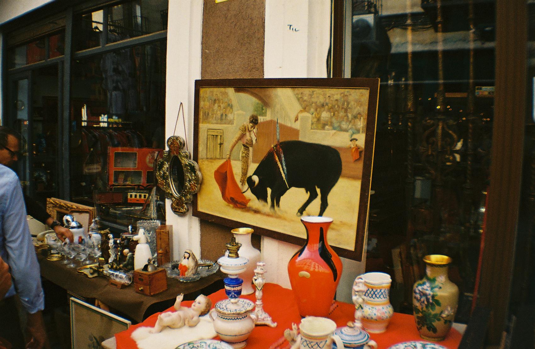 Scene from El Rastro Market