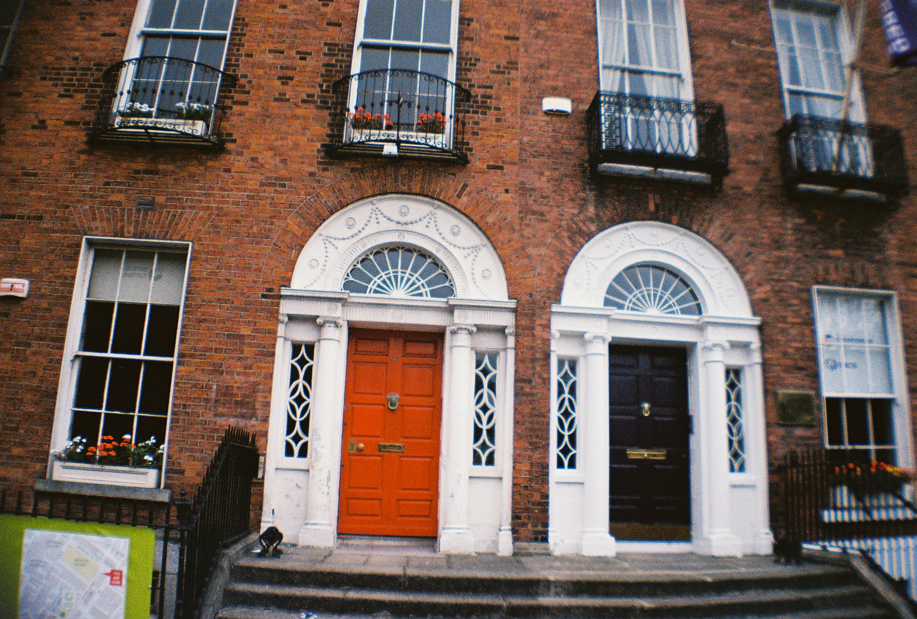 Typical doors in Dublin
